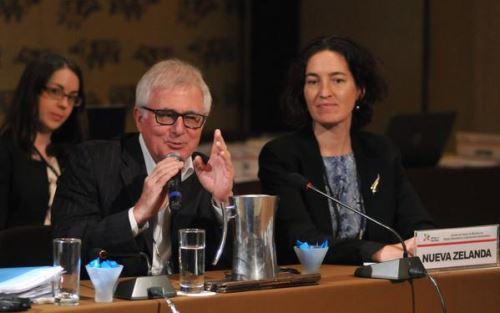 Ministro de Comercio de Nueva Zelanda, Tim Groser.