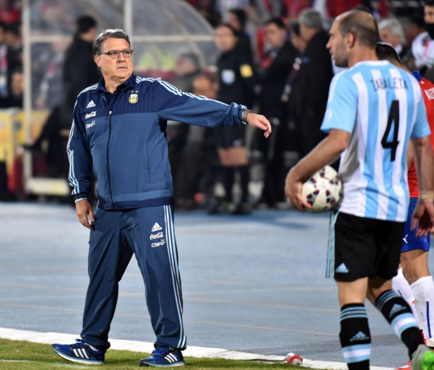 Tata Martino no reconoce superioridad de Chile