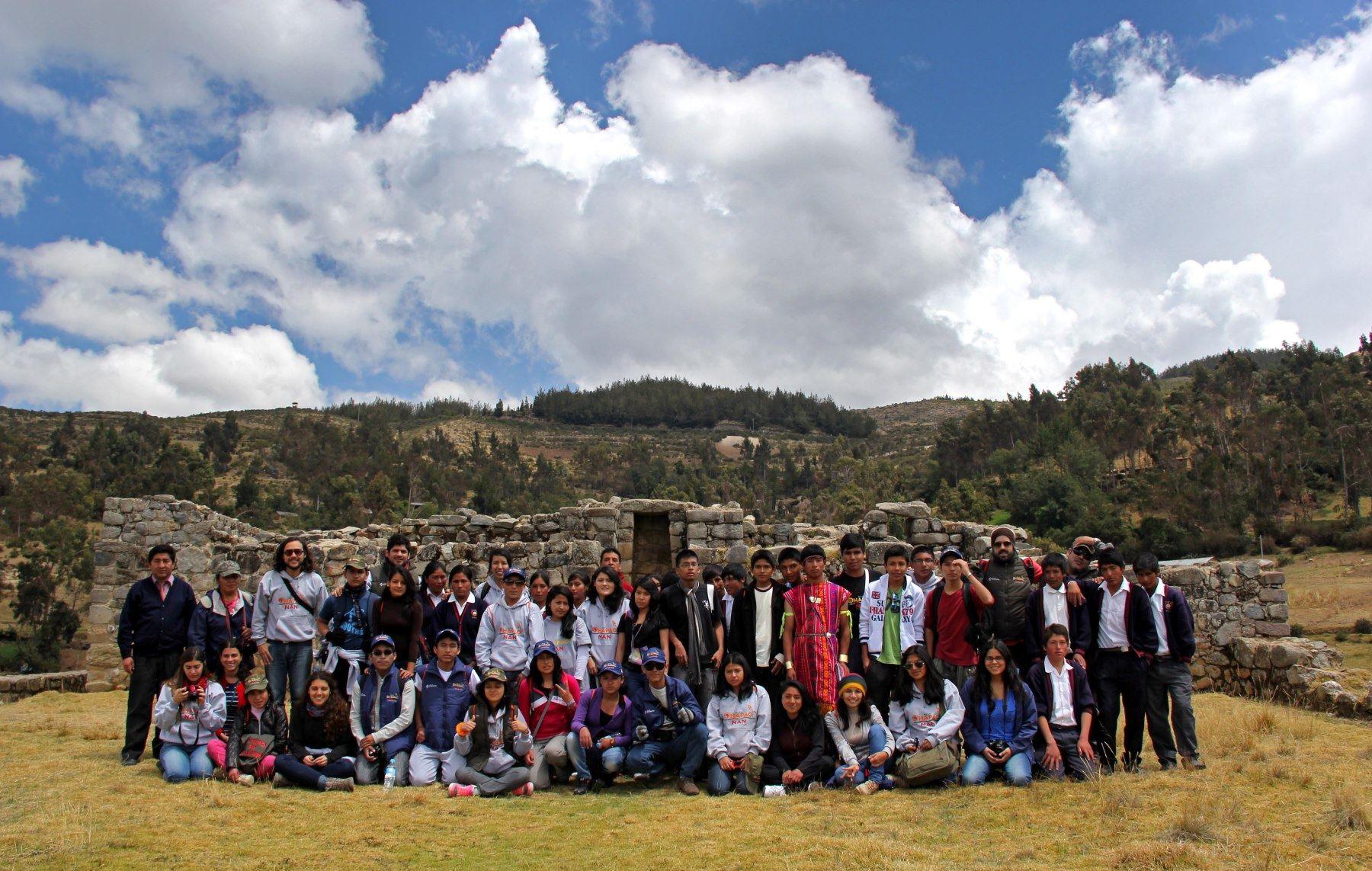 Escolares de diversas regionales participarán en recorrido del Qhapaq Ñan. ANDINA/Difusión