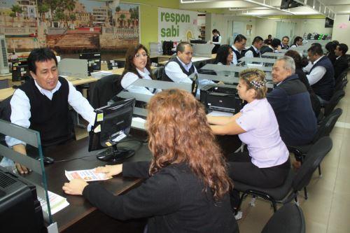 Amnistía tributaria en el Callao. Foto: Andina/Difusión