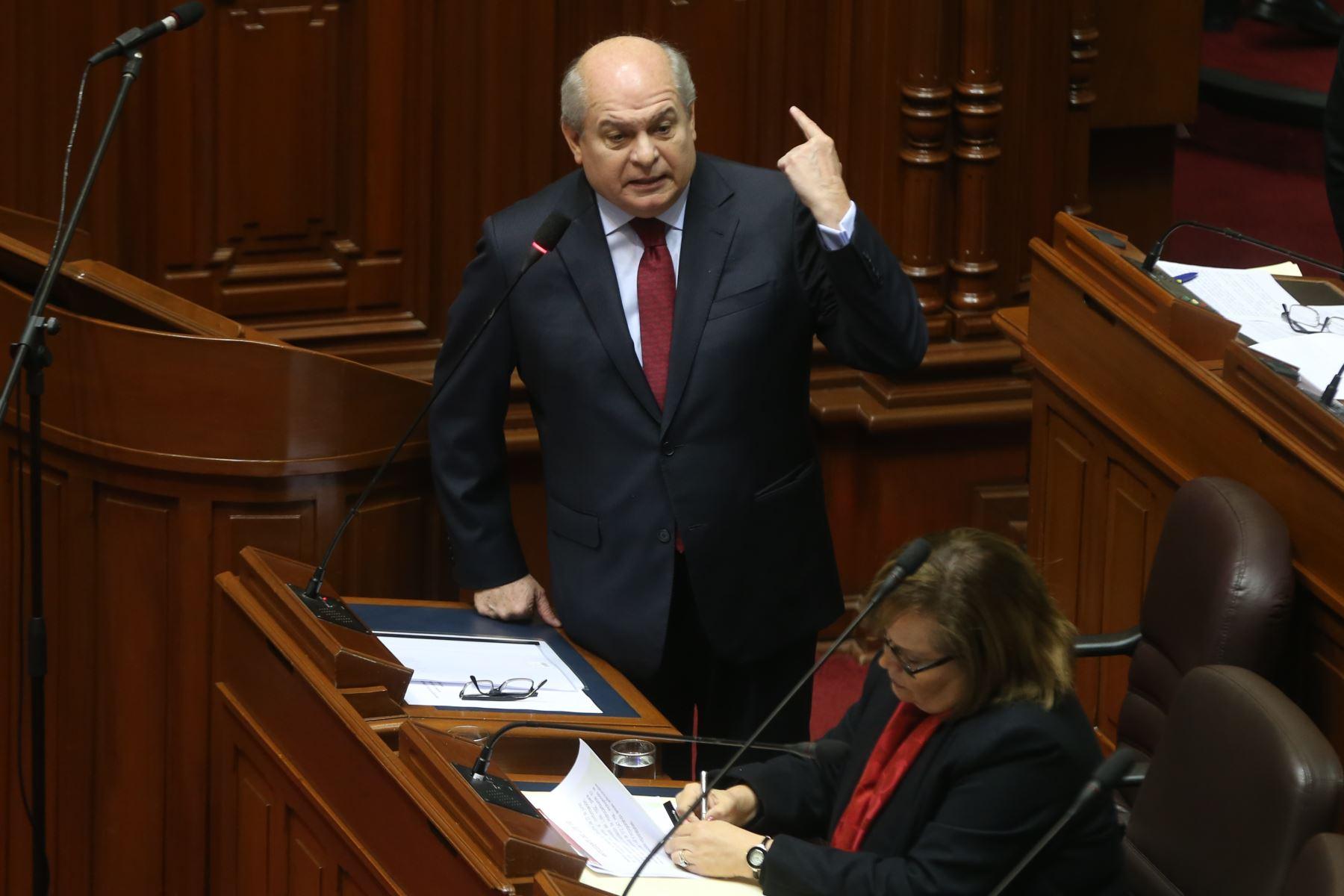 Congreso debate hoy interpelaci n contra jefe del gabinete for Declaraciones del ministro del interior hoy