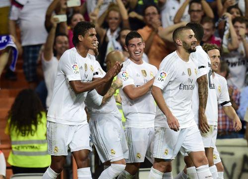 Real Madrid le mostró todo su poderío al Real Betis con goleada 5-0.