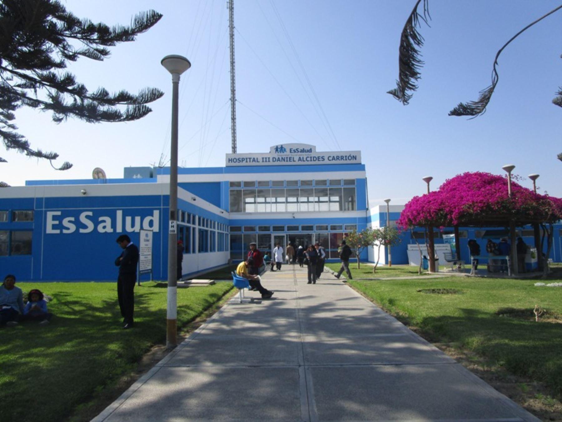 MÁS DE 118 MIL ASEGURADOS SE BENEFICIARÁN CON REMODELACIÓN DE HOSPITAL DE ESSALUD EN CALANA