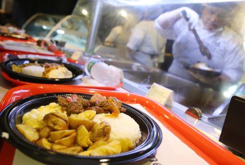 LIMA PERÚ, OCTUBRE 8. gastronomia peruana en reuniones del Banco Mundial y FMI. Foto: ANDINA/Melina Mejía