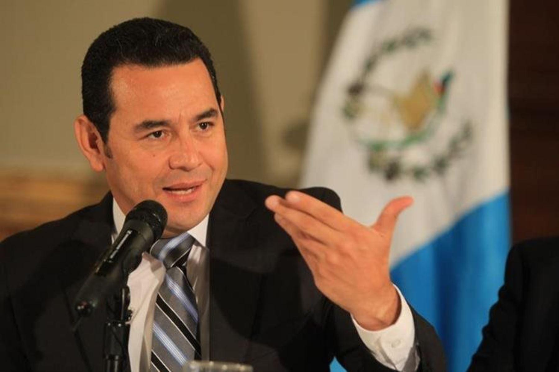Resultado de imagen para presidente de guatemala 2007 Jimmy Morales