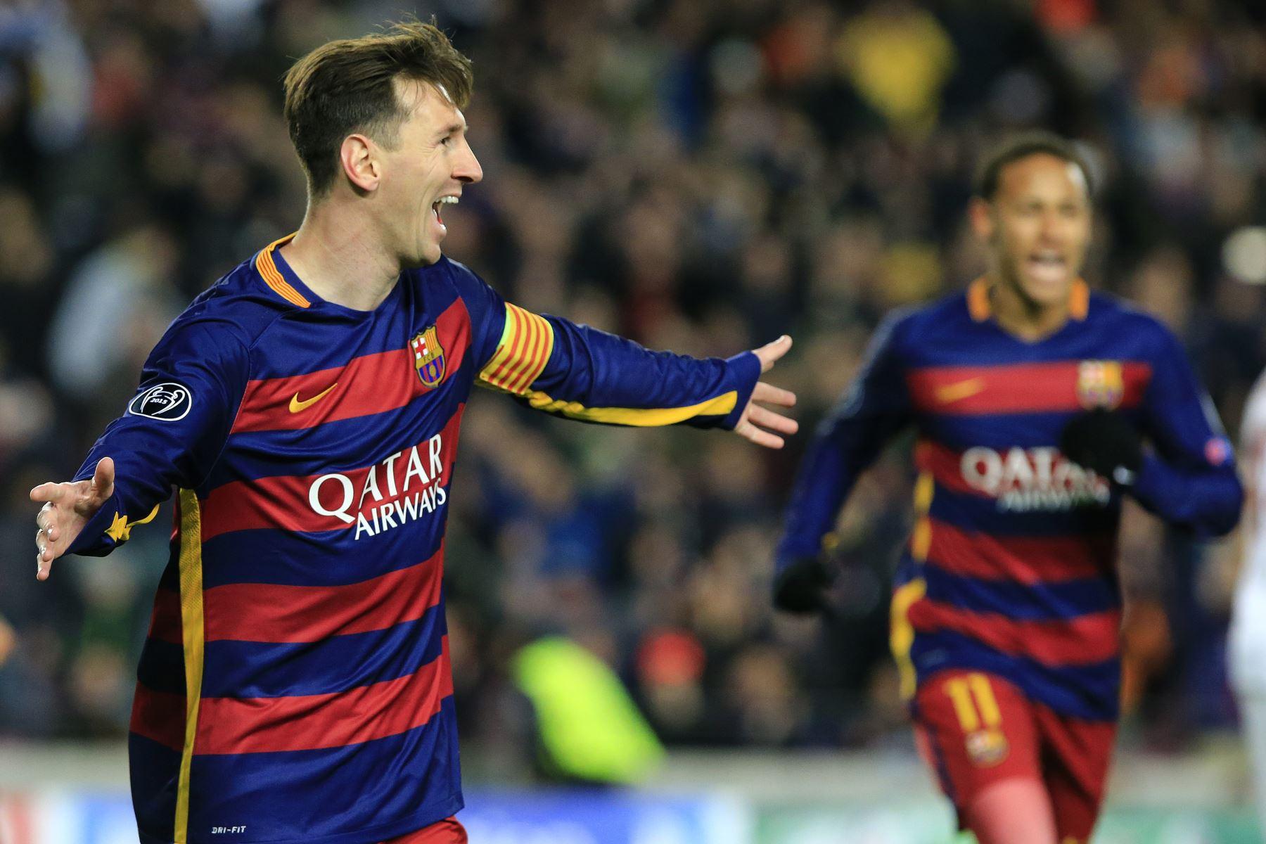 Barcelona se impone 6-1 a la Roma por la quinta jornada de la Liga de Campeones. Foto: AFP.