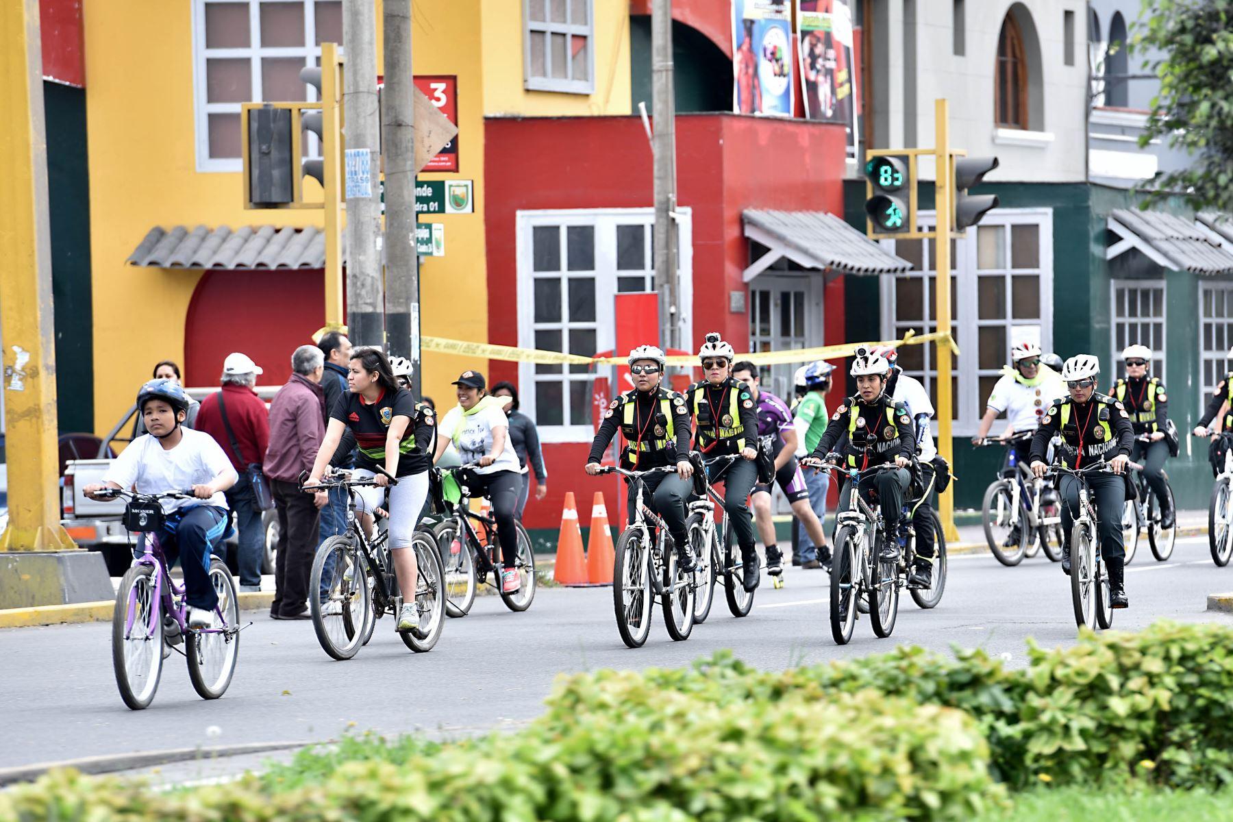 Ministerio del interior organiza bicicleteada para for Transparencia ministerio del interior