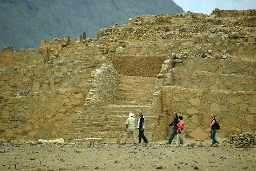 Ciudad sagrada de Caral-Supe, ubicada en la provincia limeña de Barranca. Foto: ANDINA/ archivo