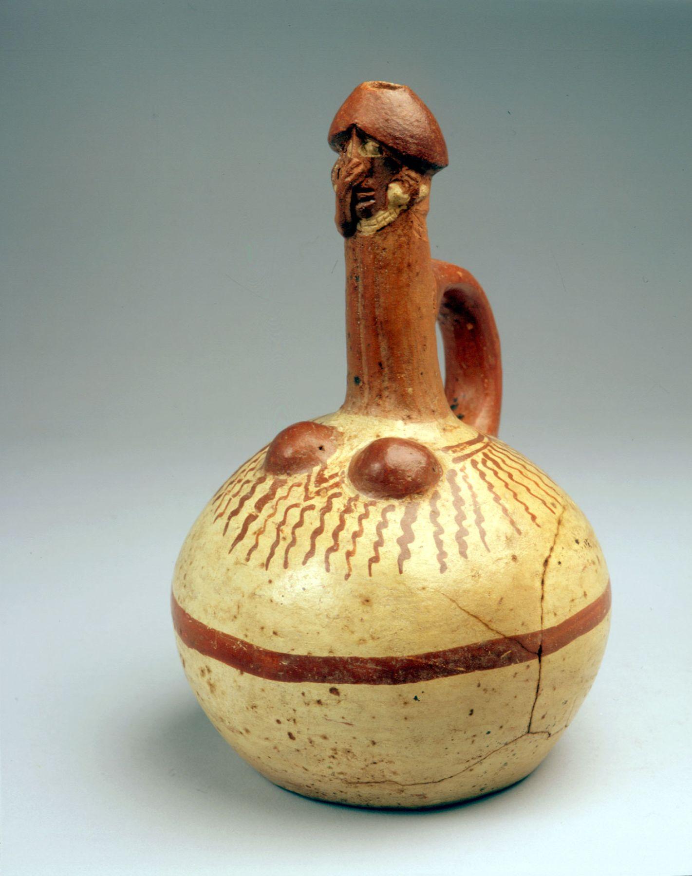 M s de cien piezas de cer mica de la cultura moche se for Ceramicas para piezas