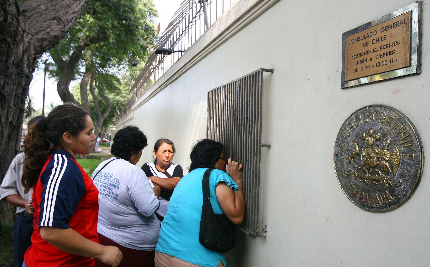 Venezolanos encabezan lista de solicitudes para vivir en Chile