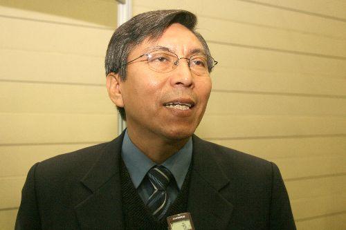 Sismólogo Hernando Tavera. ANDINA/archivo