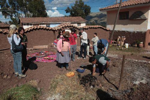 Turismo vivencial en Ancahuasi, distrito Iscuchaca, Cusco.Foto: ANDINA/Juan Carlos Guzmán Negrini.