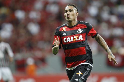Paolo Guerrero suma cinco goles con Flamengo en lo que va la temporada 2016. Foto: INTERNET/Medios.