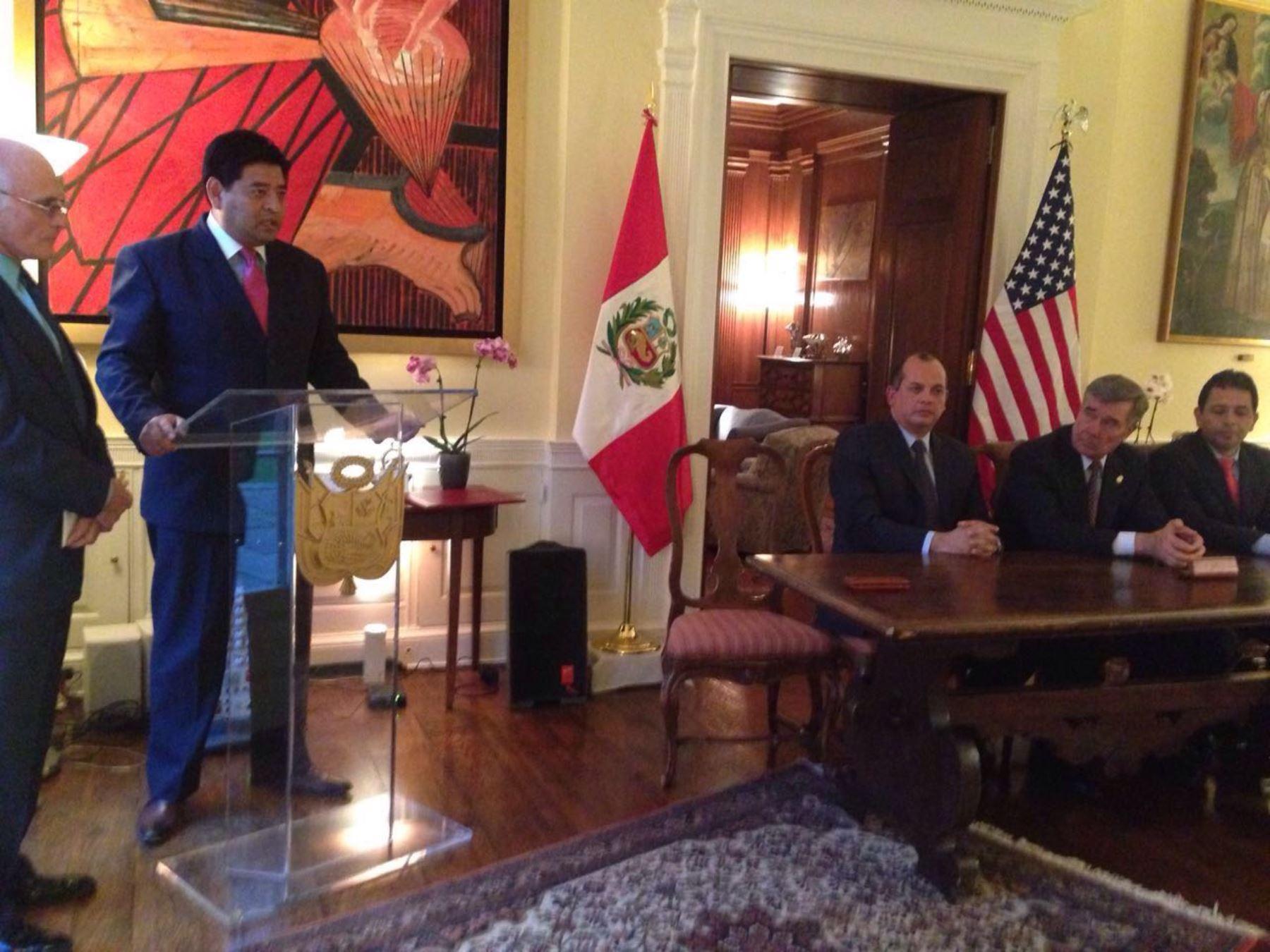 Superintendencia firmó Memorando de Entendimiento con el Departamento de Seguridad Nacional de Estados Unidos. Foto: Difusión