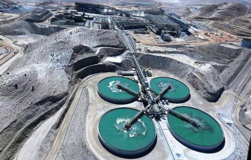 La nueva planta de procesamiento de cobre de Cerro Verde demandó una inversión de US$ 5,600 mllns. ANDINA/Difusión