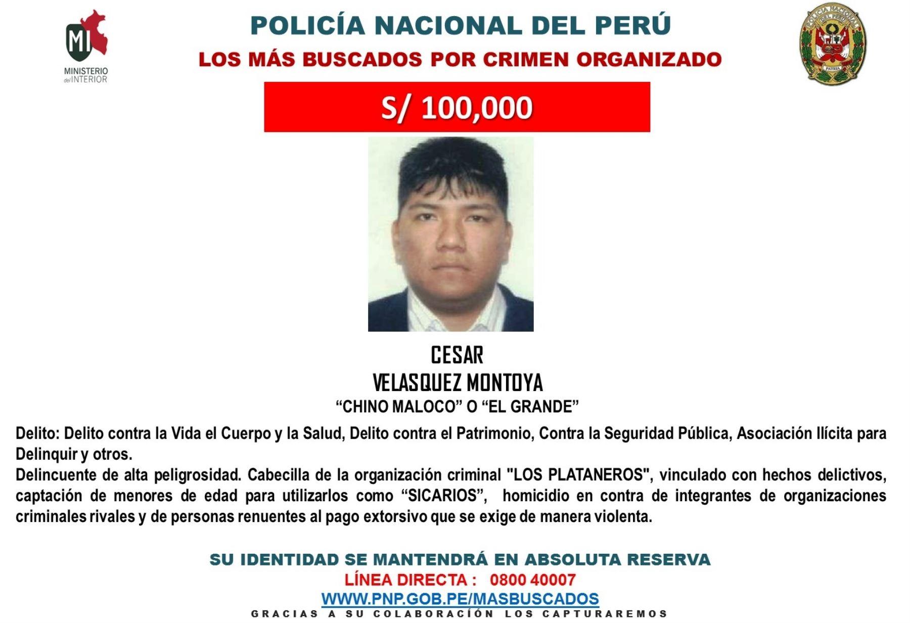 Difunden segunda lista de delincuentes m s buscados por for Ministerio de interior y justicia direccion