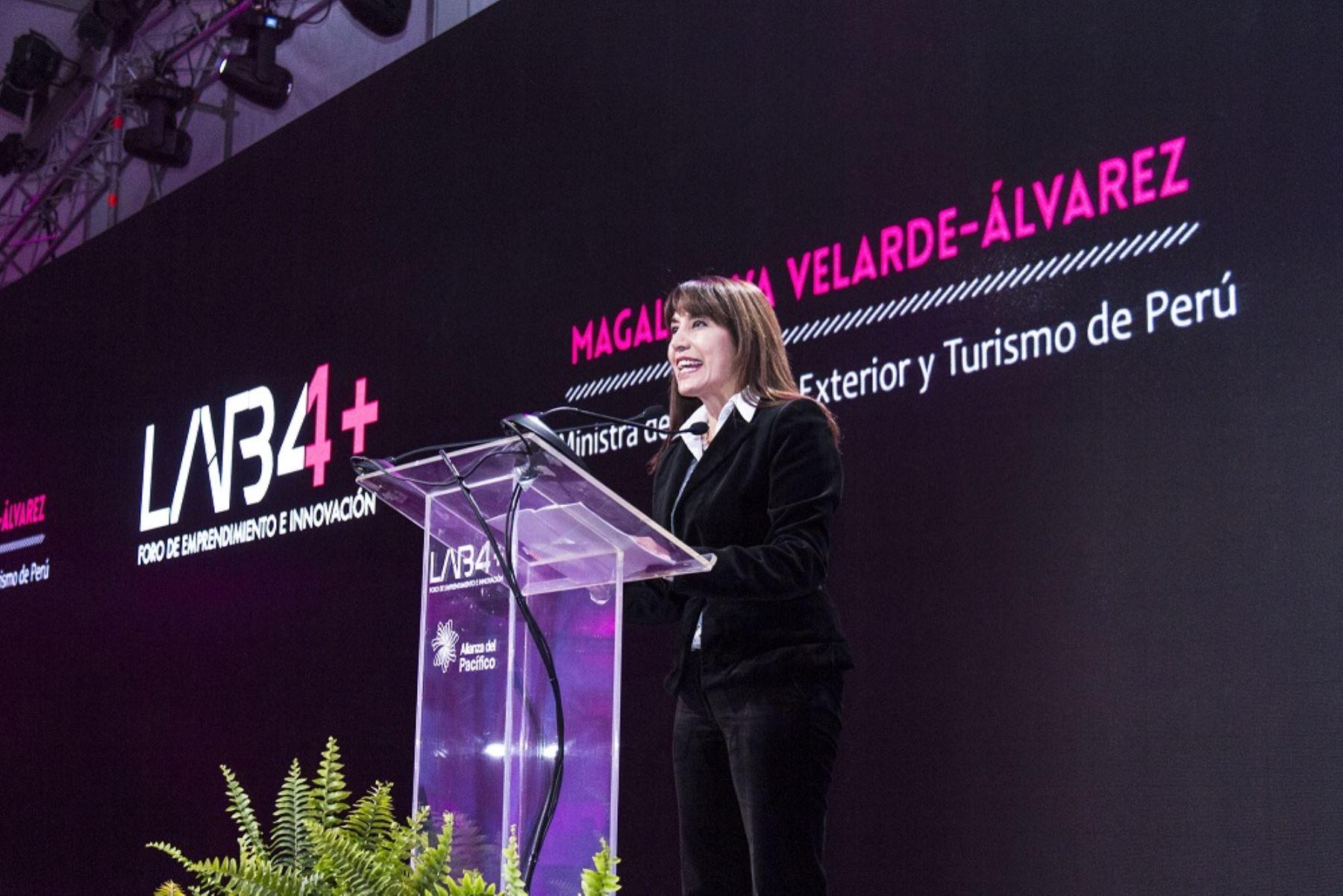 Ministra Magali Silva: Cuarta edición del Foro de Emprendimiento e Innovación de la Alianza del Pacífico LAB4+ generó US$ 26 millones en compromisos de negocios.