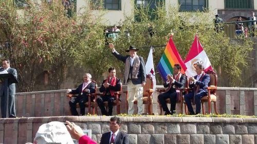Pedro Pablo Kuzcynski en Cusco