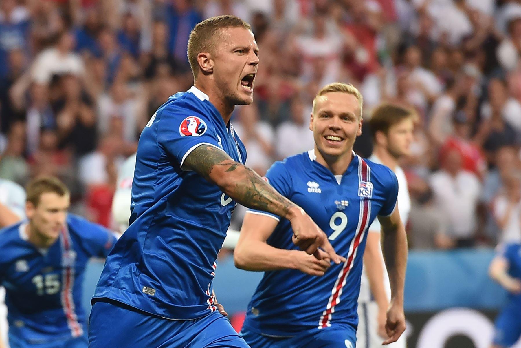 Las Malvinas son Islandesas: ISL 2-1 ING Euro2016, Hístorico