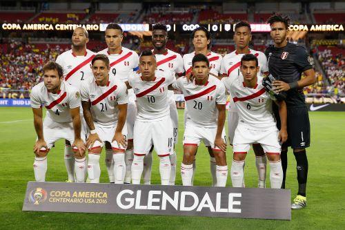 Selección peruana de fútbol. Foto: AFP
