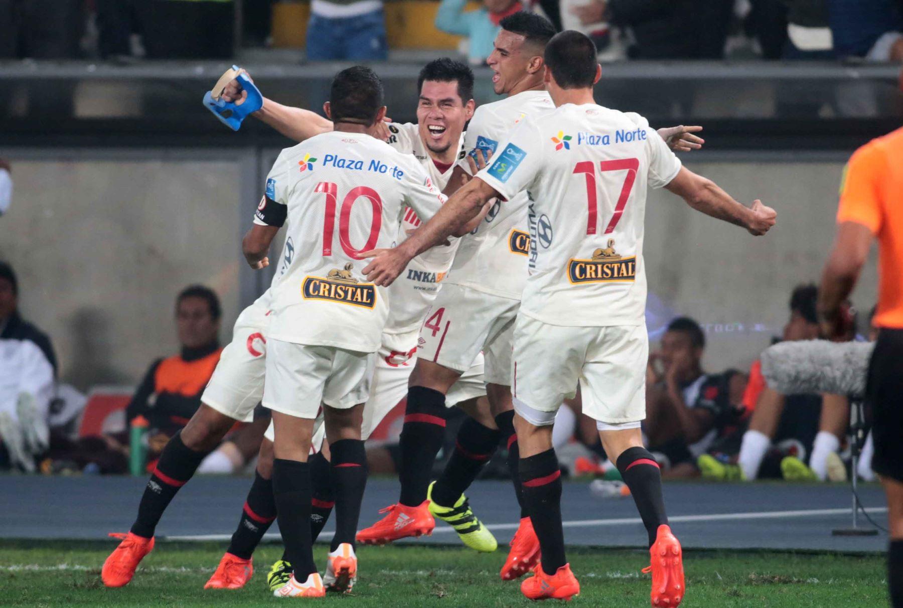 LIMA,PERÚ-JULIO 21.Universitario derrota 1-0 a Alianza Lima y se consolida como líder de tabla acumulada. Foto: ANDINA/ Carlos Lezama