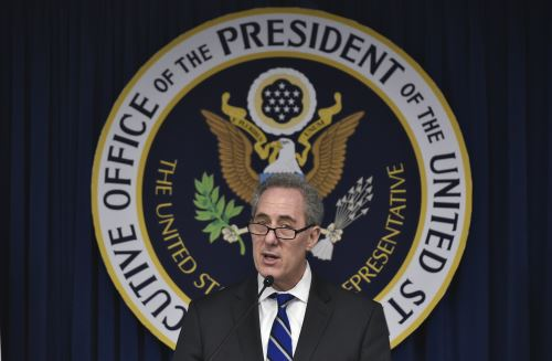 Michael Froman, titular de Comercio de los Estados Unidos. Foto: AFP.