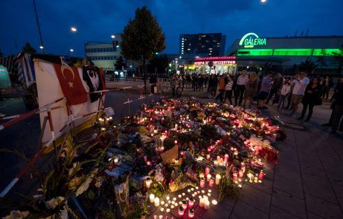 """Atacante de Múnich, un """"desequilibrado"""" obsesionado con asesinatos en masa. Foto: AFP."""