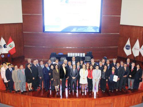 Autoridades de 18 universidades públicas fueron capacitados en alta gerencia. Foto: ANDINA/Difusión.