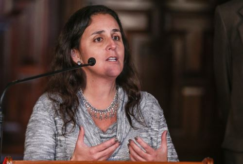 Ministra de Salud, Patricia García.FANDINA/Vidal Tarqui
