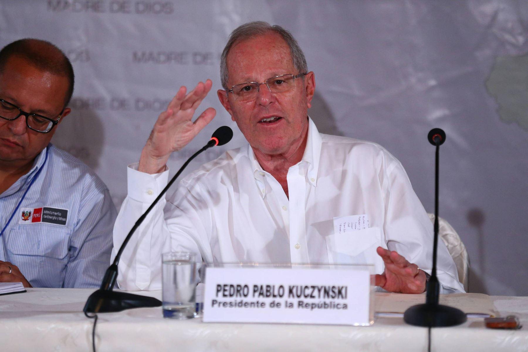 Presidente de la República, Pedro Pablo Kuczynski. Foto: ANDINA.