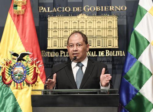 Ministro boliviano de Gobierno, Carlos Romero. ABI