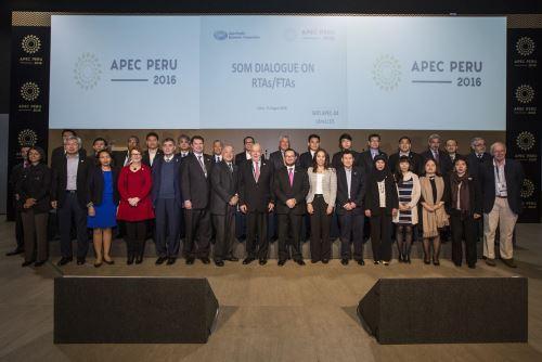Mincetur lideró Diálogo para avanzar en la creación de un Área de Libre Comercio del Asia-Pacífico.