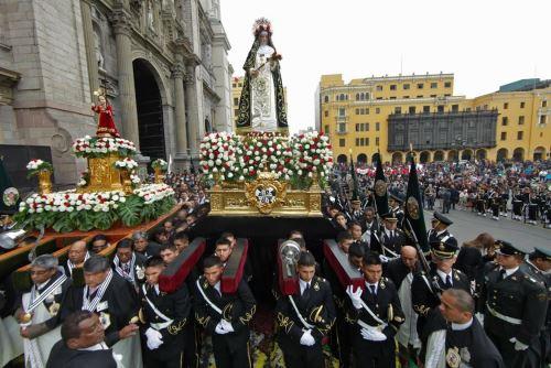 PNP rendirá próxima semana homenaje a Santa Rosa de Lima. Foto: Difusión.