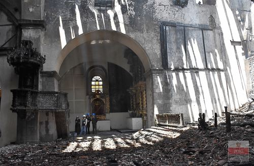 Antes de fin de año estará proyecto de inversión pública para restaurar San Sebastián, anunció el Ministerio de Cultura. ANDINA