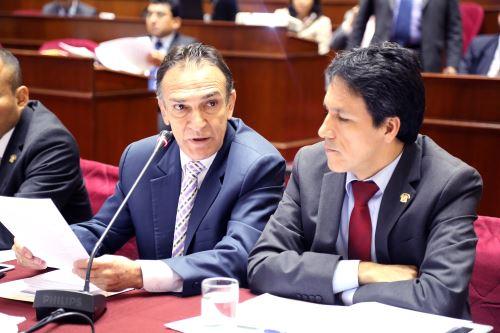 Héctor Becerril, presidente de la Comisión de Fiscalización.