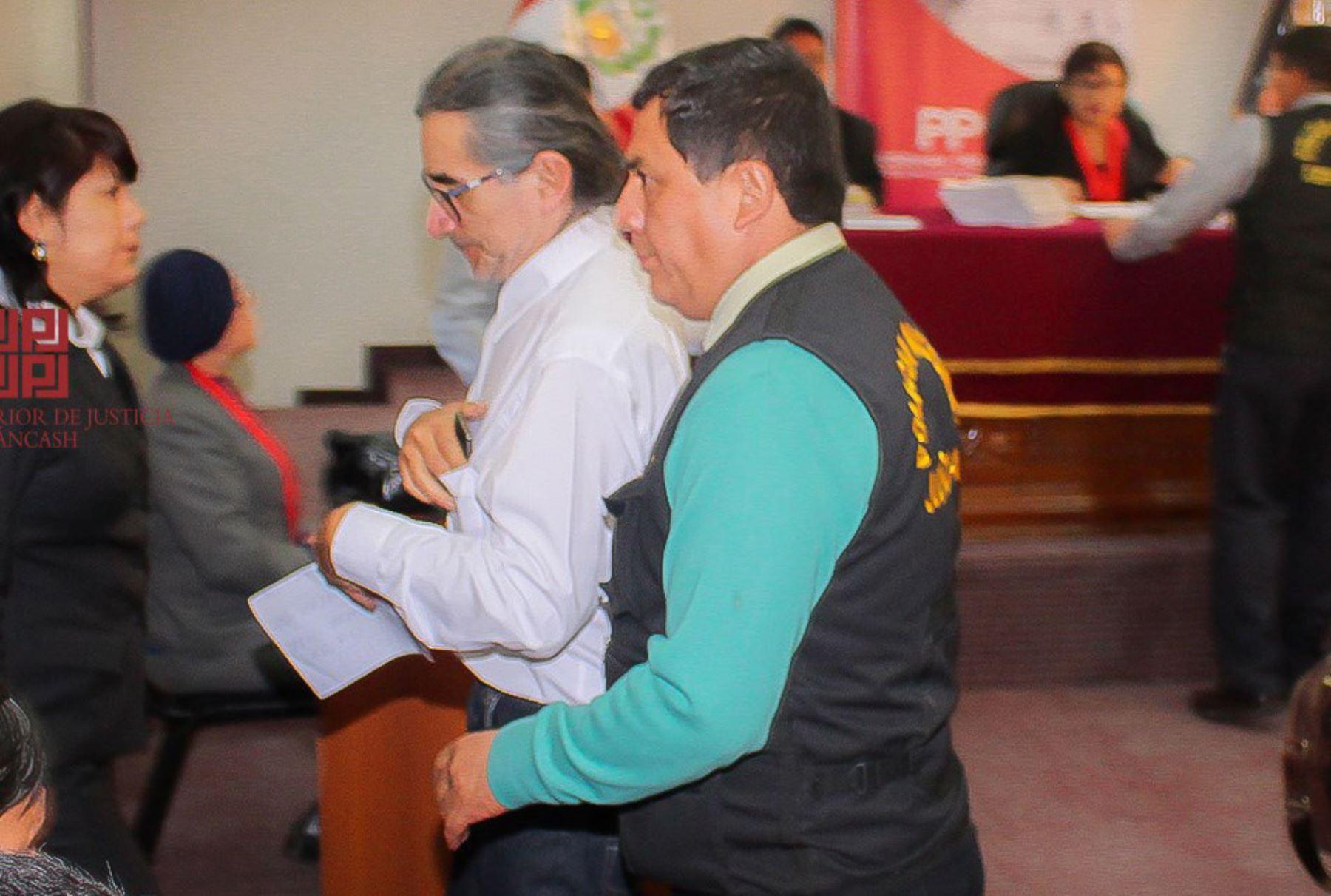 Condenan a cinco años de cárcel al gobernador de Áncash, Waldo Ríos. Foto: Corte Superior de Justicia de Áncash