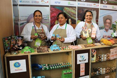 Excocaleros esperan ventas de café y cacao por más de S/ 4 mllns.