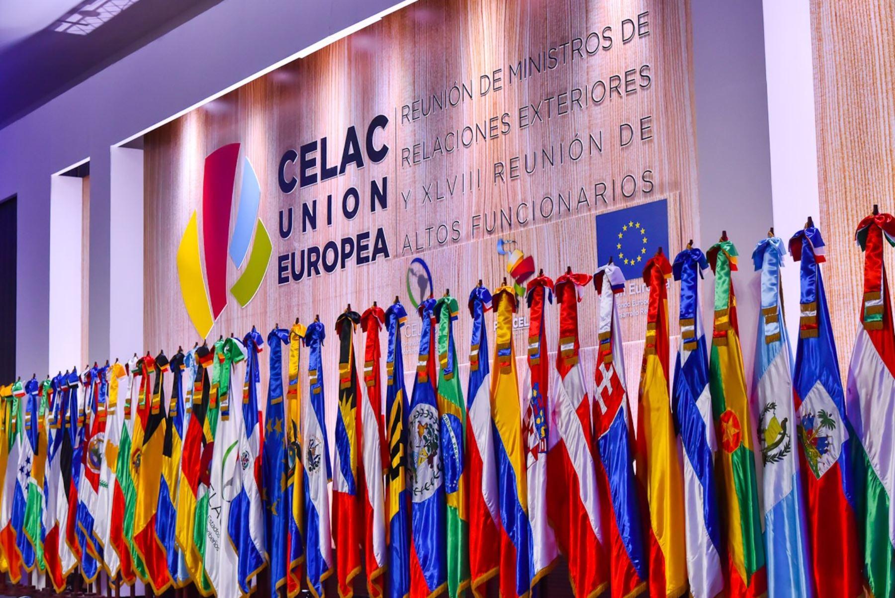 Resultado de imagem para ministros de Exteriores de la UE y la CELAC (AFP)
