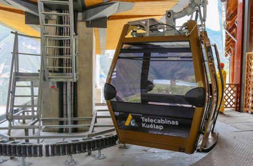 El sistema de telecabinas de Kuélap será inaugurado en enero próximo e iniciará operaciones con un periodo de prueba gratuita para la población local, anunció el ministro de Comercio Exterior y Turismo (Mincetur), Eduardo Ferreyros, al realizar una inspección a esta importante obra que impulsará el turismo en la región Amazonas.