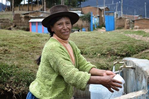Programa Agua Más permitirá la reparación, mantenimiento y aseguramiento de la operatividad de los sistemas de agua potable y saneamiento en comunidades rurales.