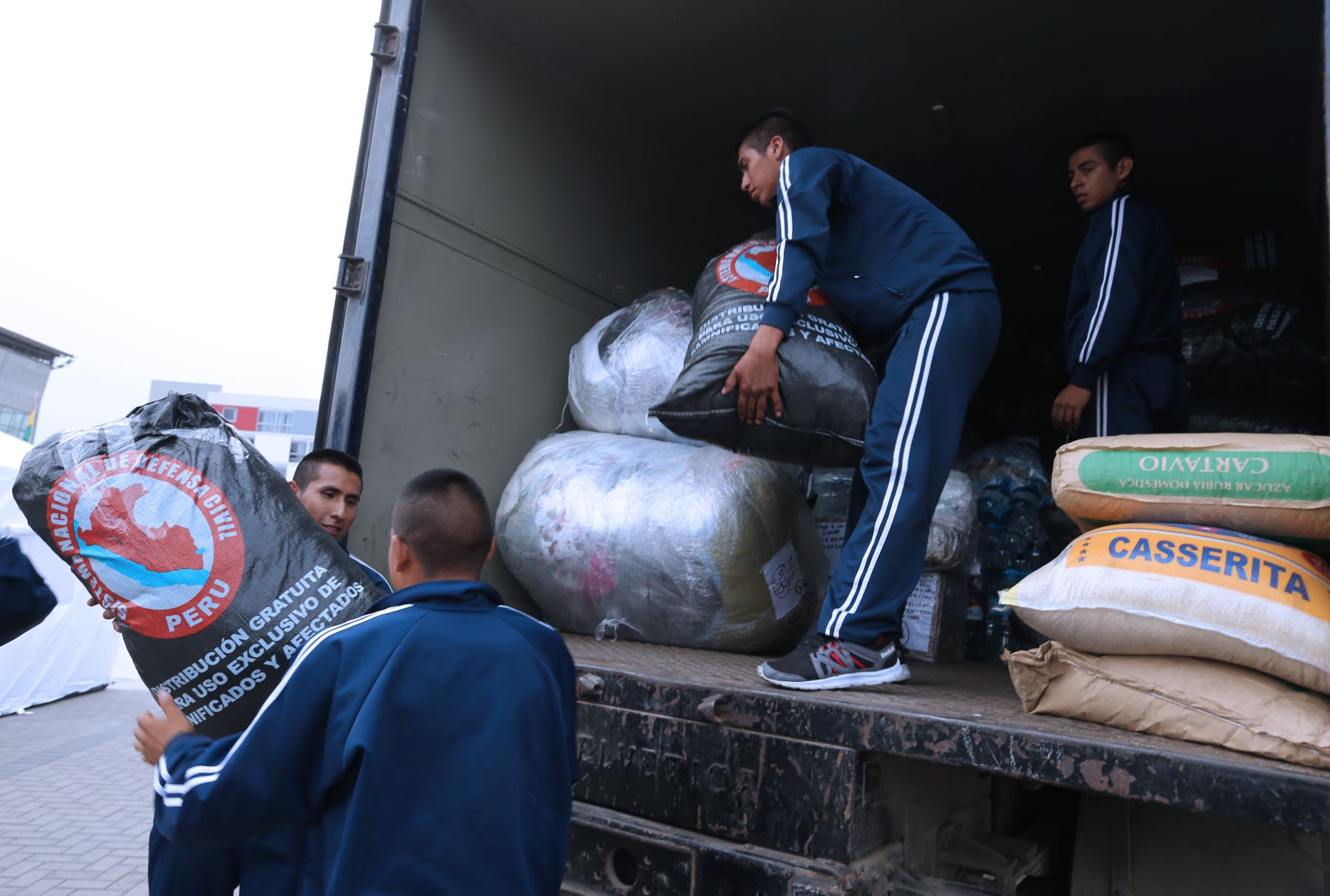 Peru: 8 tons of aid collected for torrential rain victims