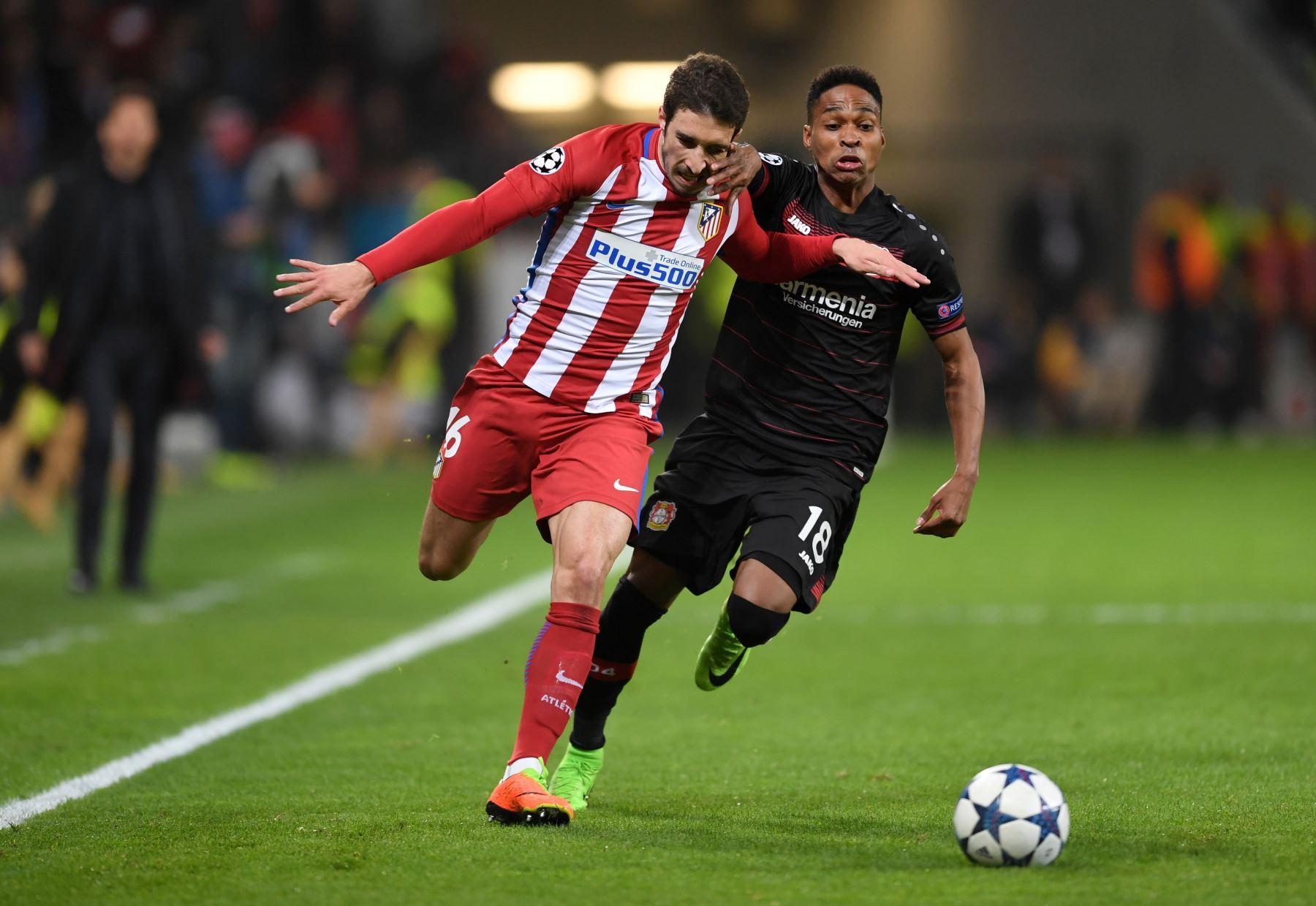 Jugada del Atlético-Leverkusen. Análisis Atlético Bayer Leverkusen