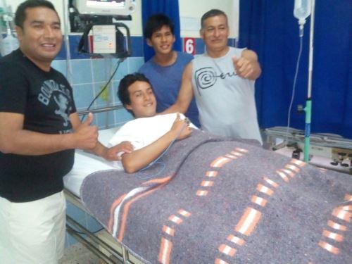 Oportuna intervención del suboficial de segunda PNP Ilder Ruiz Monroy, integrante de la Unidad de Salvataje de Huacho,salvó vida de tres parientes