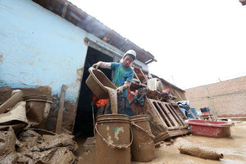 LIMA,PERÚ.MARZO 20 Damnificados por los huaicos en Huachipa. Foto: ANDINA/Norman Córdova