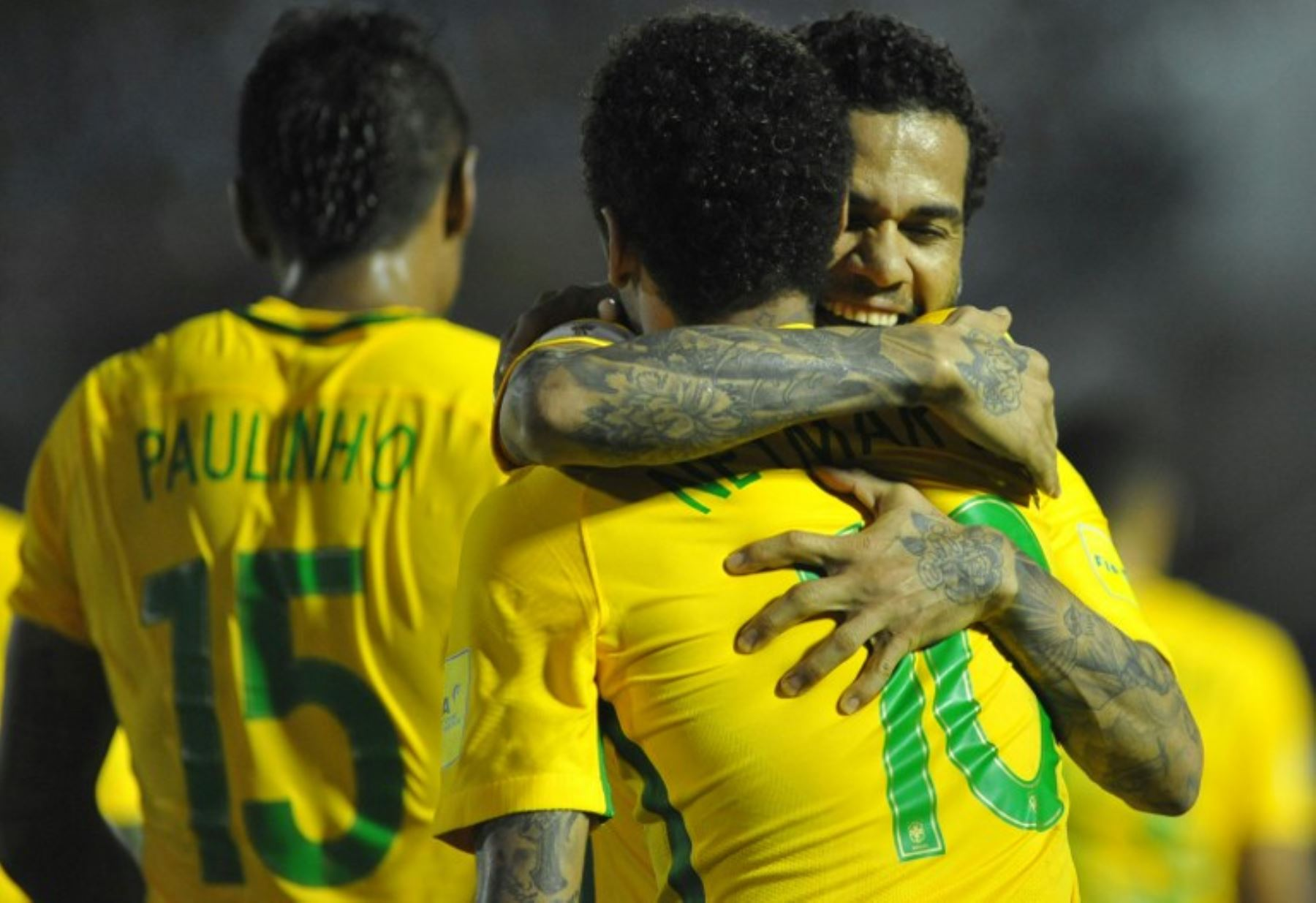 Brasil se puso a un paso de clasificar al Mundial de Rusia