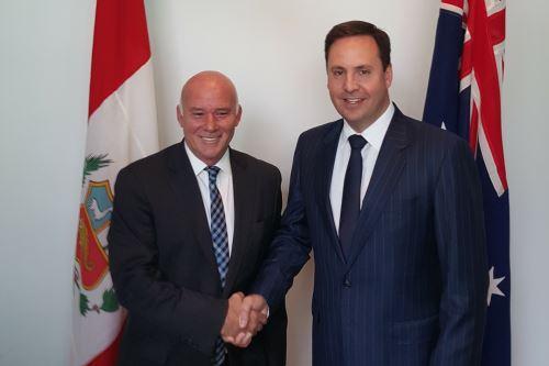 Australia and Peru ink trade agreement