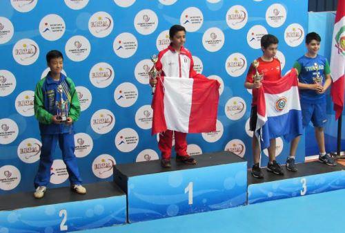 Tenis de mesa peruano mostró crecimiento