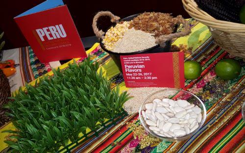 Peru Food Festival at UN