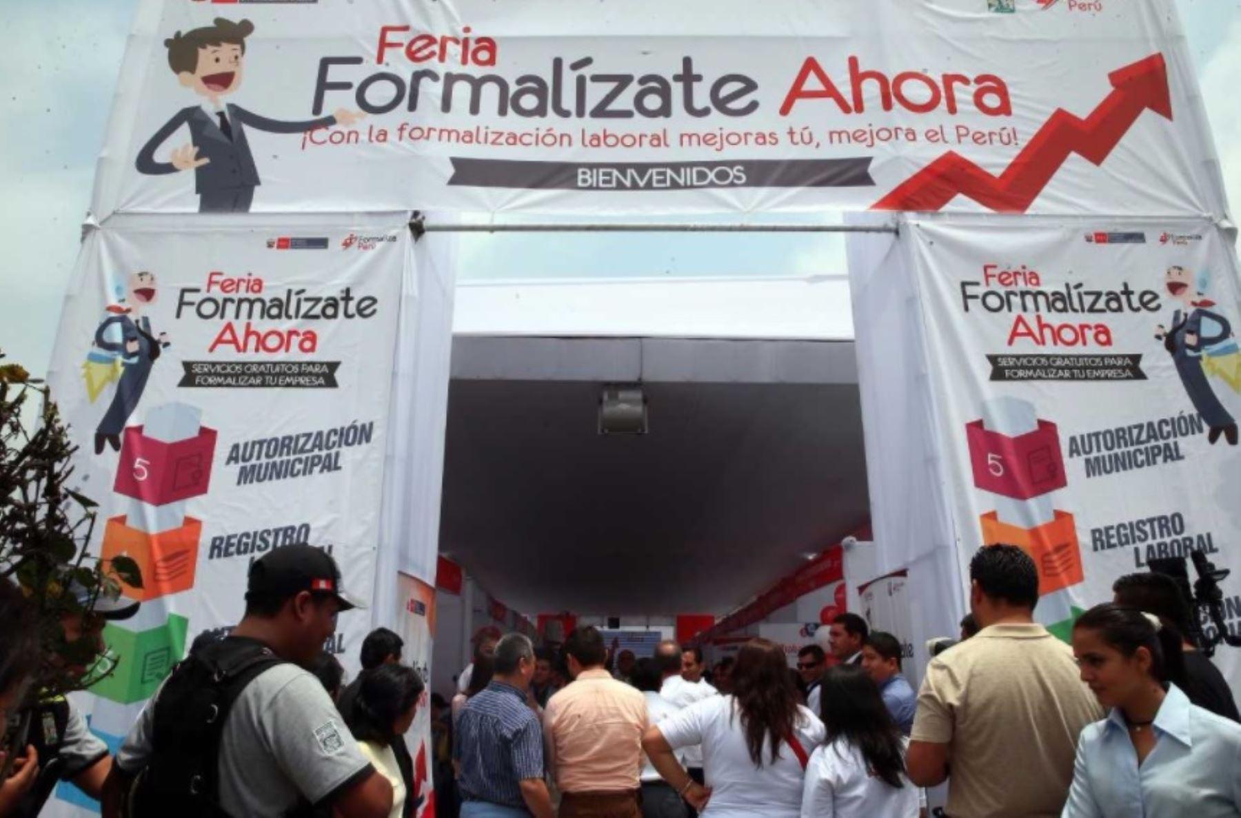 Resultado de imagen para Feria de Formalizaciòn Empresarial