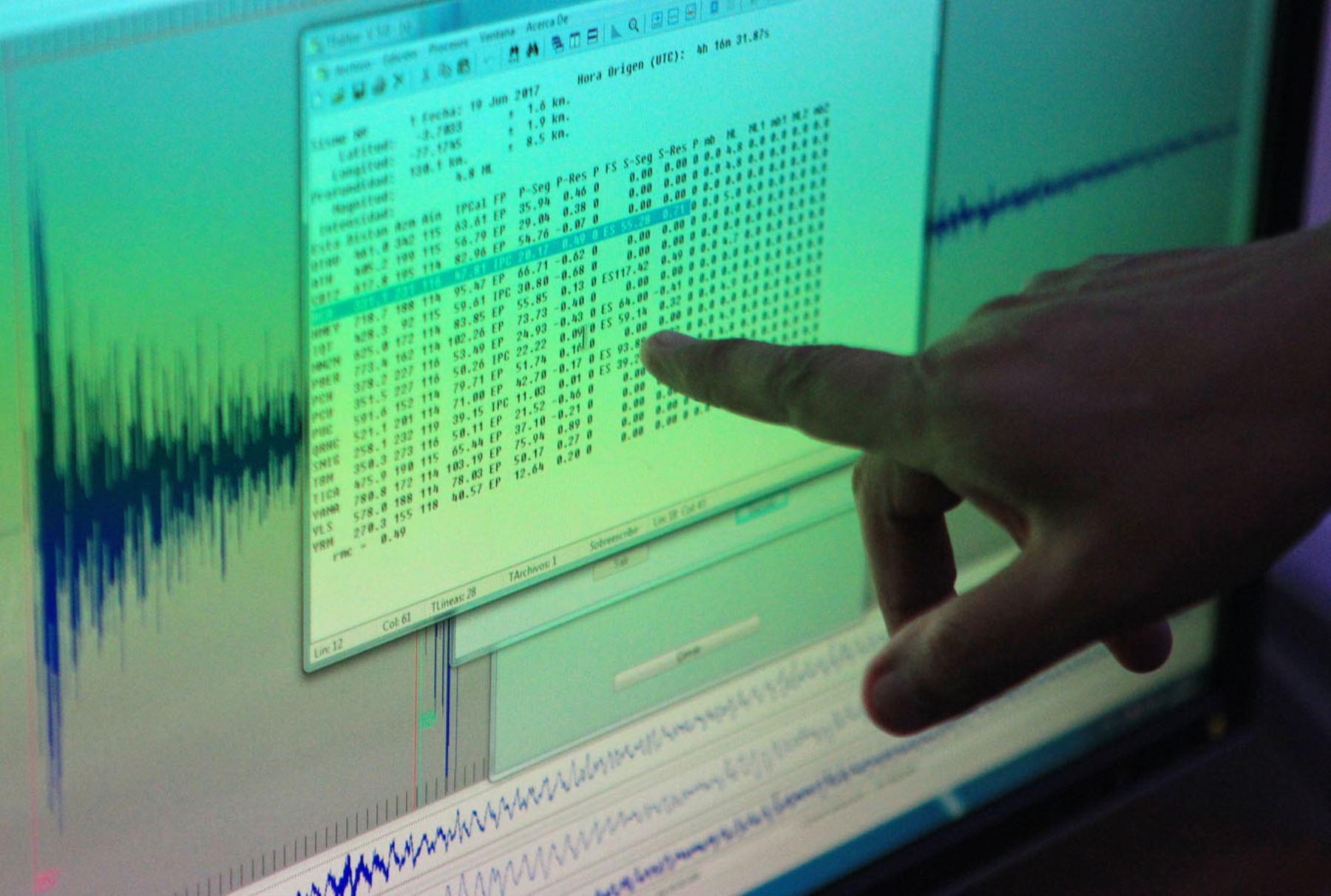 Sismo de magnitud 3.4 se registró esta noche en Arequipa